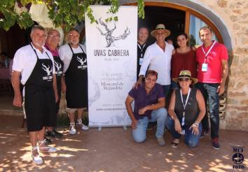 Presentación Uvas Cabrera Eveento Wineandtwits